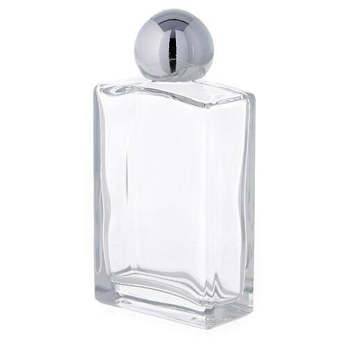 Bouteille rectangulaire pour eau bénite 50 ml verre 25 pcs 2