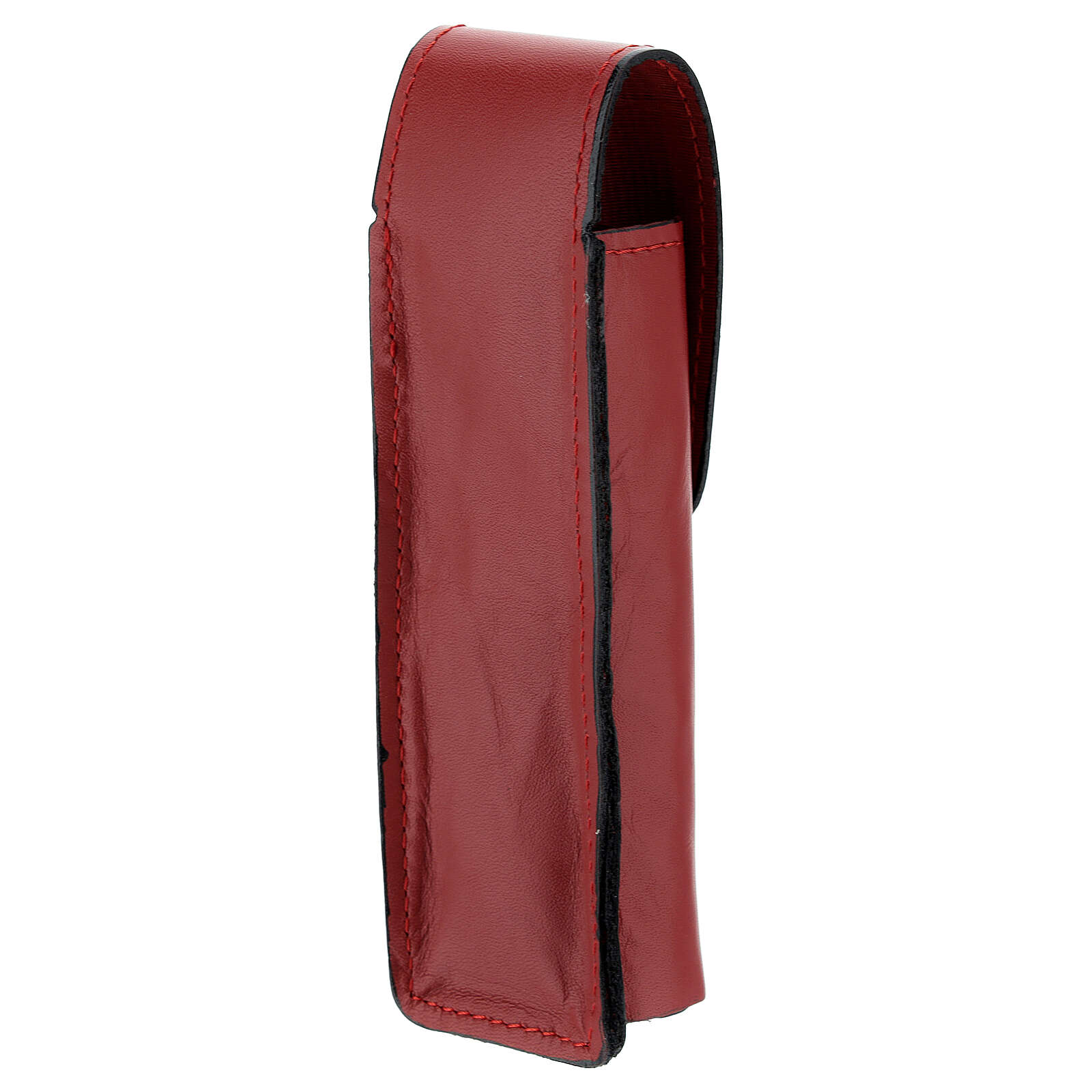 Sprinkler case 5 in real red leather 3