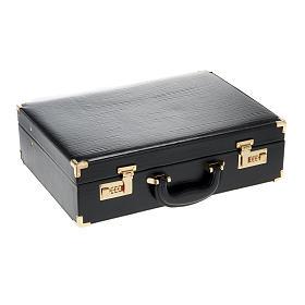 Valise en cuir, Luxe s2