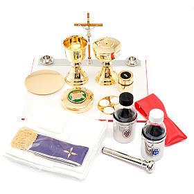 Podróżny zestaw liturgiczny, torba szara, condura s3