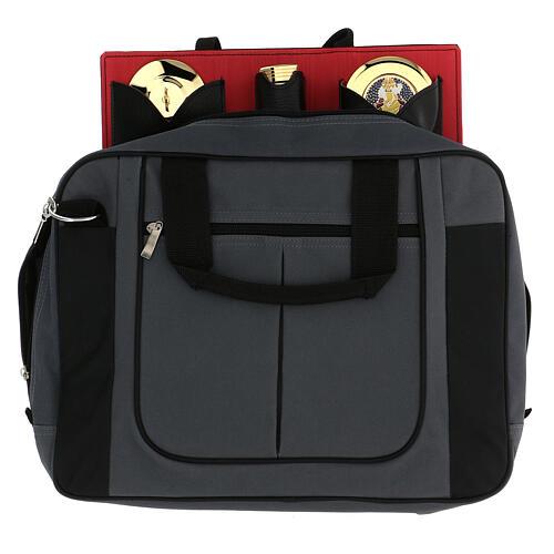 Podróżny zestaw liturgiczny, torba szara, condura 1