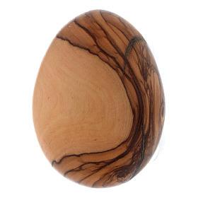 Olive wood egg s1