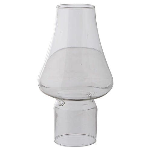 Wind-proof glass for liquid wax candles 1