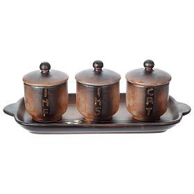 Olio sacro: servizio ceramica s1