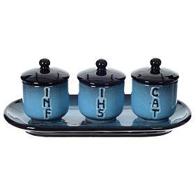 Olio sacro: servizio ceramica s2