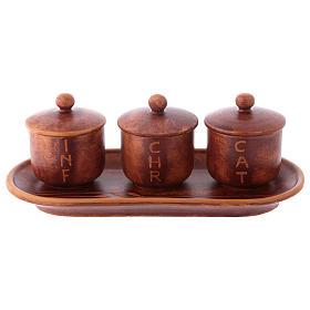 Olio sacro: servizio ceramica s3