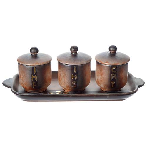 Olio sacro: servizio ceramica 1