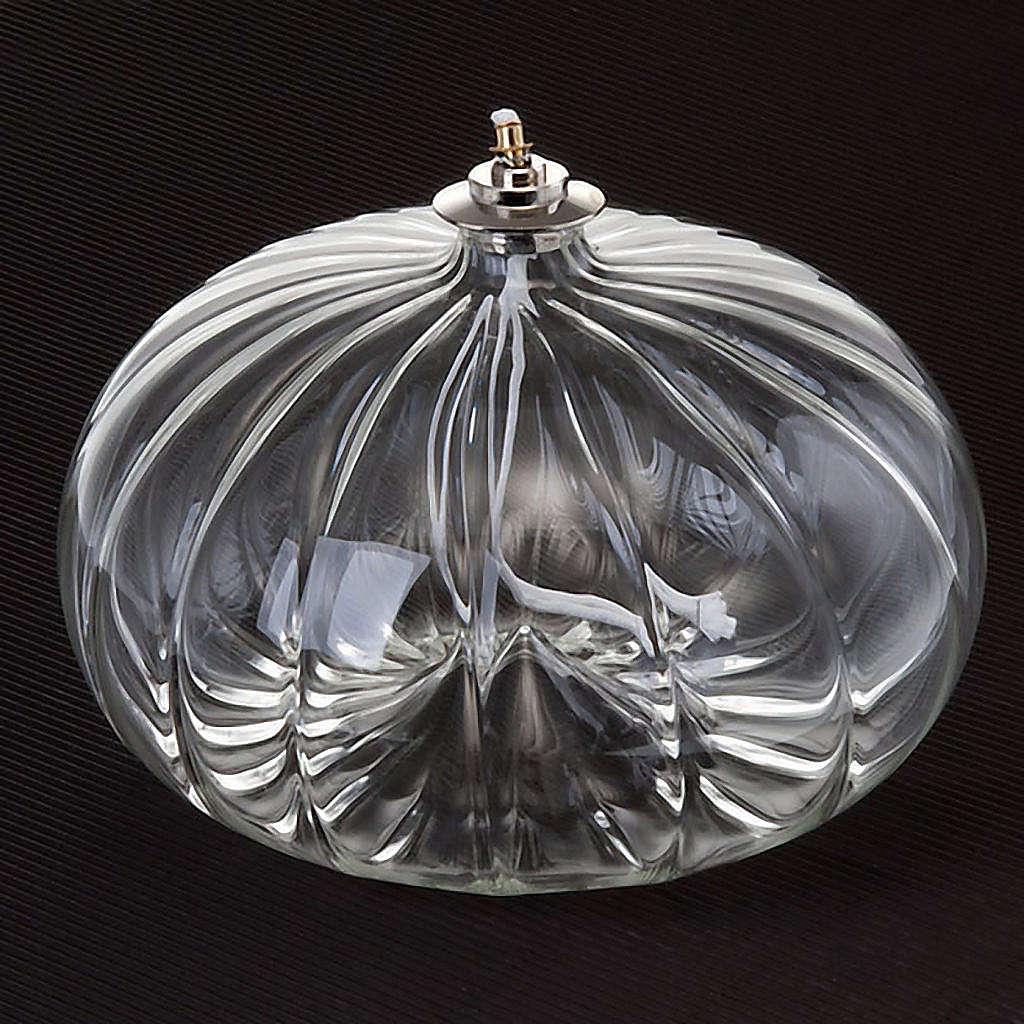 Luxury blown glass lamp 3