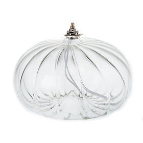 Luxury blown glass lamp s1