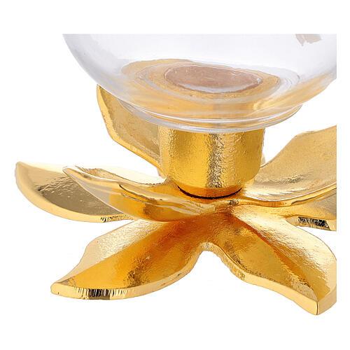 Lampe sur tige de lotus 2