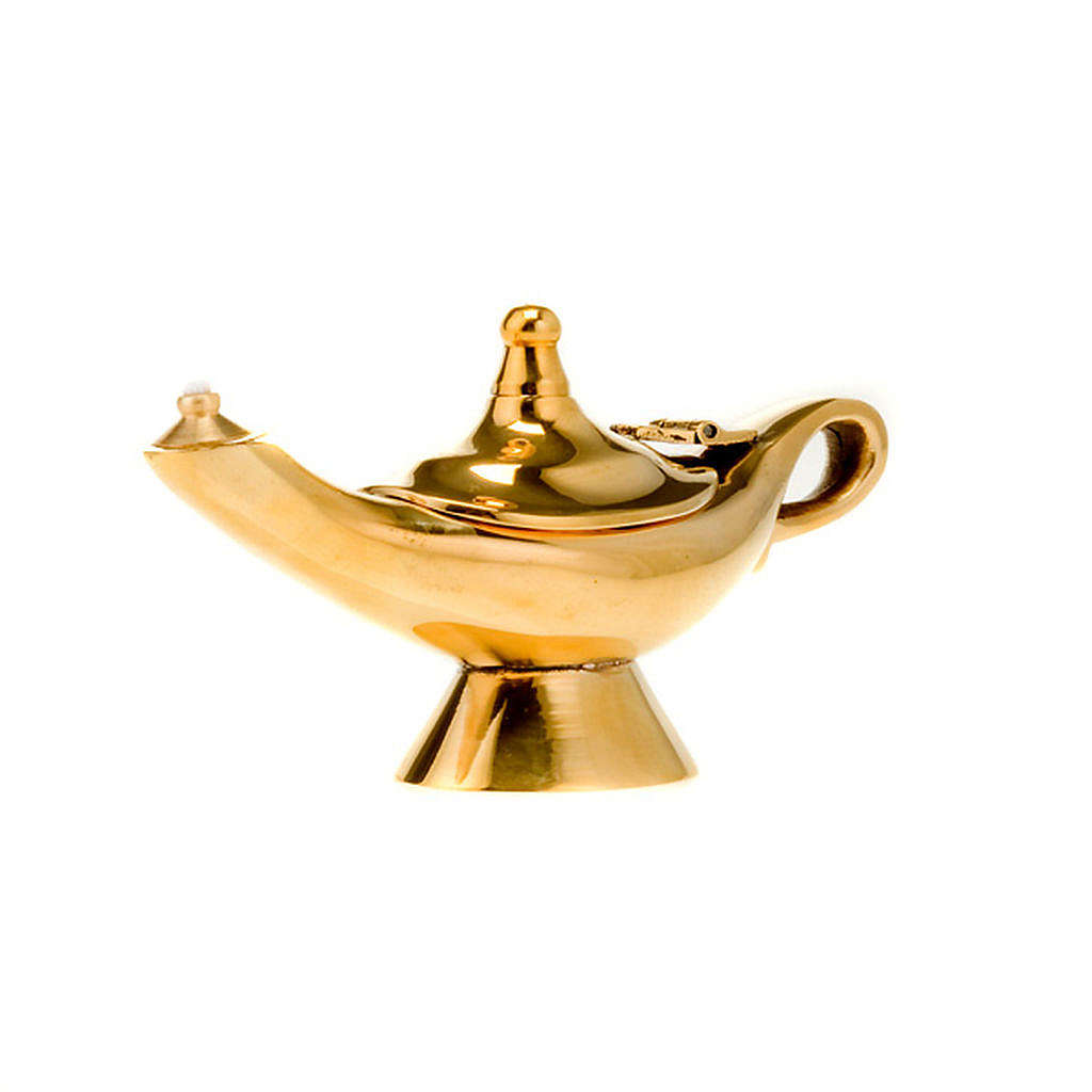 Small Aladdin brass lamp 3