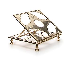 Brass book-stand s8