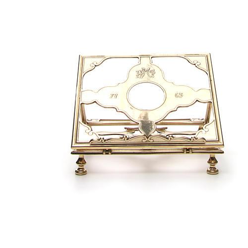 Brass book-stand 5