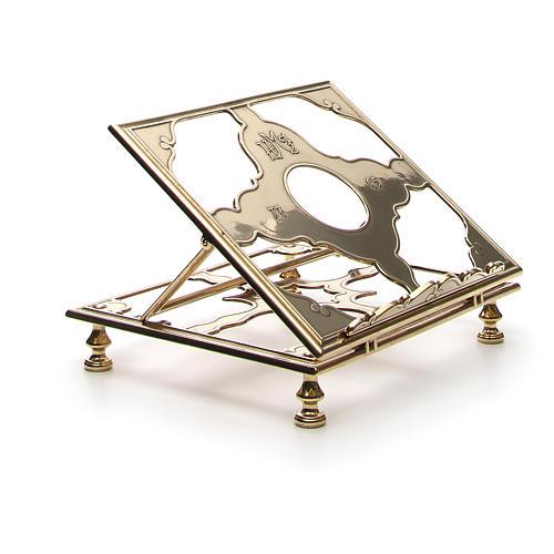 Brass book-stand 8