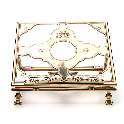 Brass book-stand 1