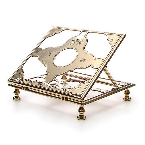 Brass book-stand 2