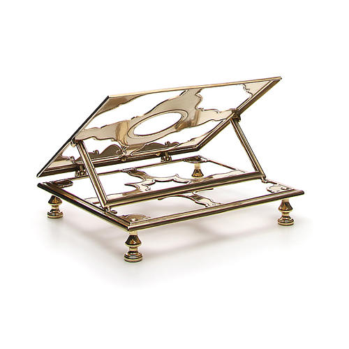 Brass book-stand 3