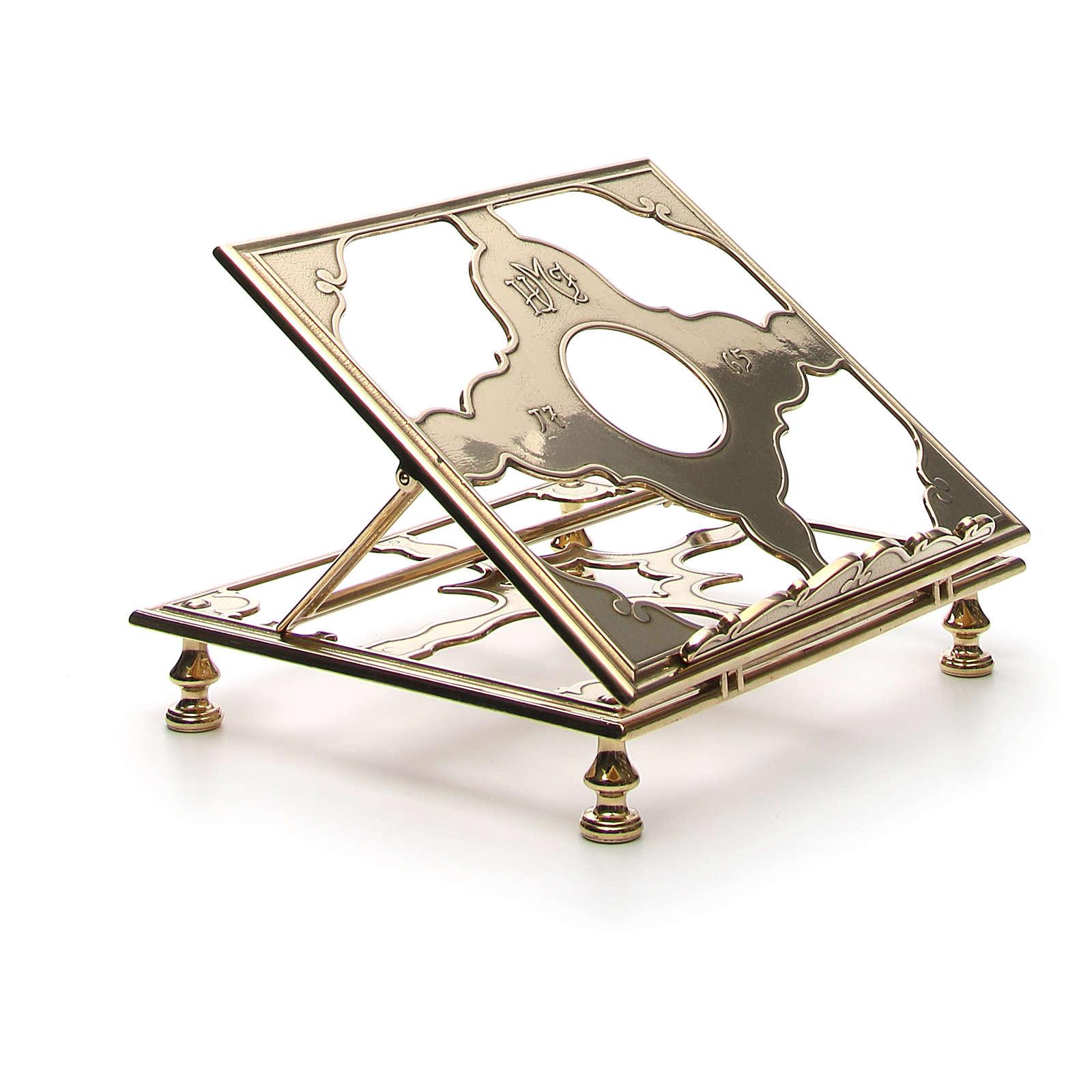 Estante mesa em latão 4