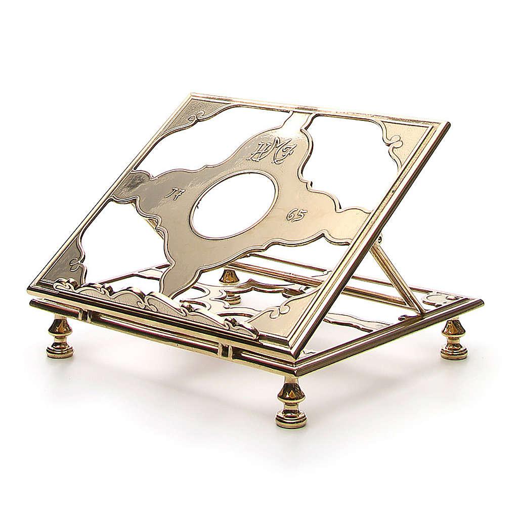 Brass book-stand 4