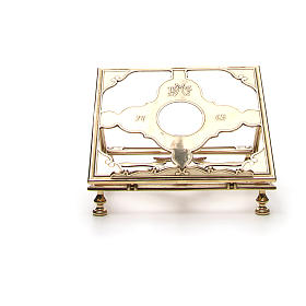 Brass book-stand s5