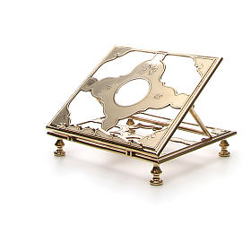 Brass book-stand s6