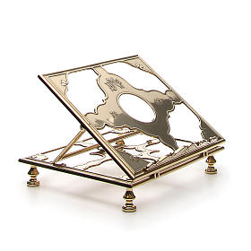 Brass book-stand s4