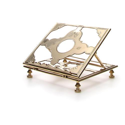 Brass book-stand 6
