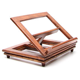 Rotating wooden book-stand s10