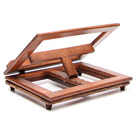 Rotating wooden book-stand s4
