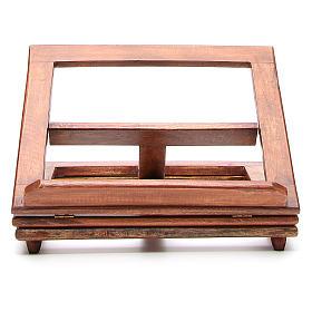 Atril giratorio de madera