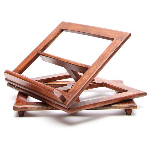 Atril giratorio de madera 12