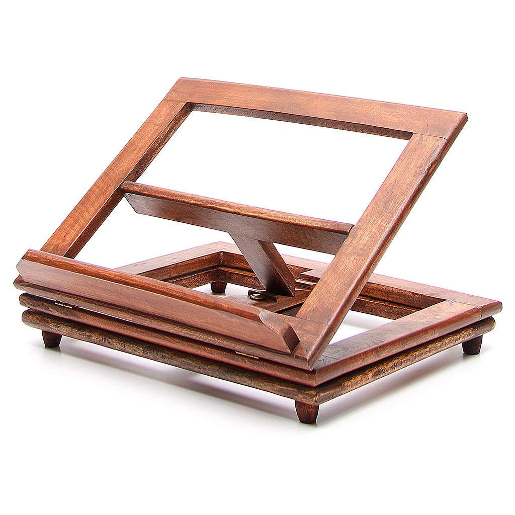 Pupitre de lecture, modèle en bois qui tourne 4