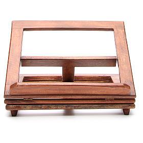 Pupitre de lecture, modèle en bois qui tourne s7
