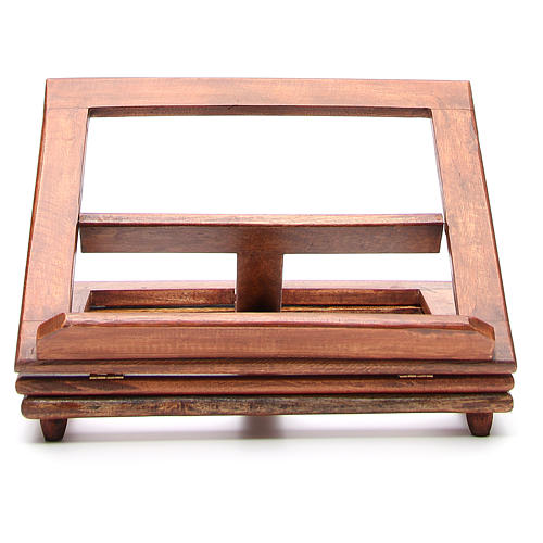 Pupitre de lecture, modèle en bois qui tourne 7