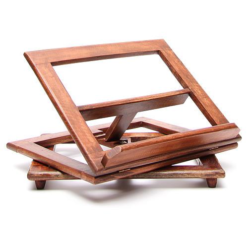 Pupitre de lecture, modèle en bois qui tourne 11