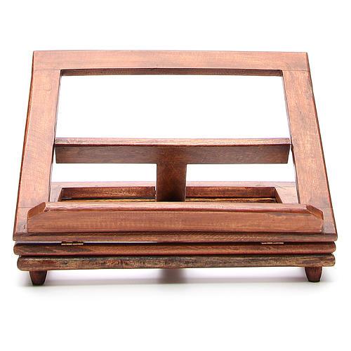 Pupitre de lecture, modèle en bois qui tourne 1