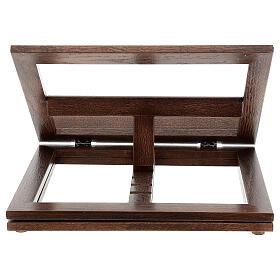 Leggio in legno girevole s18