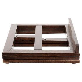 Leggio in legno girevole s19
