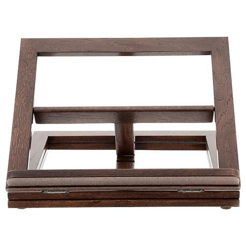 Leggio in legno girevole 13