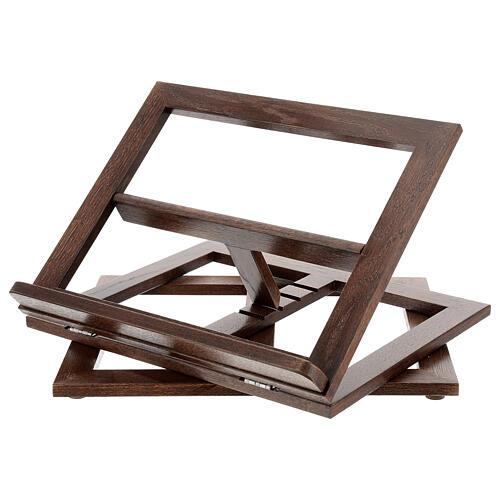 Leggio in legno girevole 14
