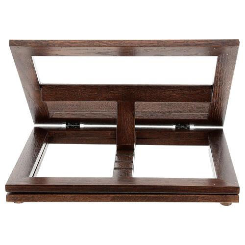 Leggio in legno girevole 18