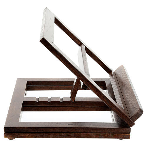 Leggio in legno girevole 21