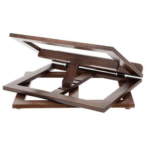 Leggio in legno girevole 22