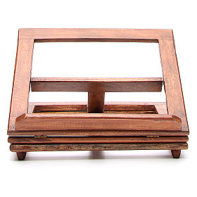 Rotating wooden book-stand s1