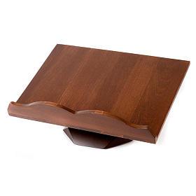 Pupitre de lecture, modèle en bois fixe ou tournant s3