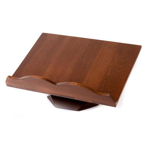 Pupitre de lecture, modèle en bois fixe ou tournant 3