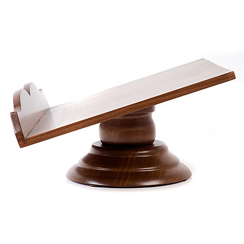 Pupitre de lecture, modèle en bois fixe ou tournant 5