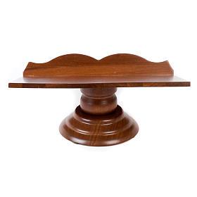 Pulpit drewniany stały i obrotowy s4
