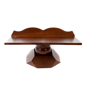 Pulpit drewniany stały i obrotowy s7