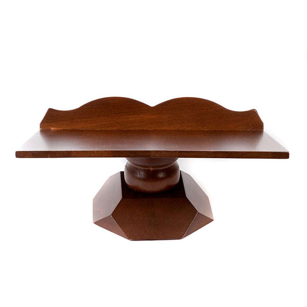 Estante mesa madeira fixo ou rotativo 4